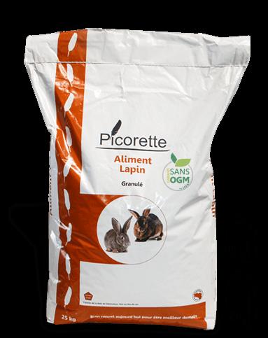 Aliment complet lapin basse cour ornement picorette for Poules d ornement pour le jardin ou la basse cour